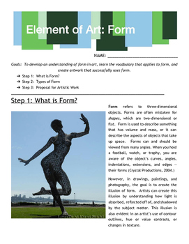 Element of Art: Form