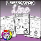 Elements of Art: Line, Art Lessons