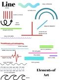 Element of Art: Line Anchor Chart