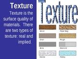 Element of Art - Texture