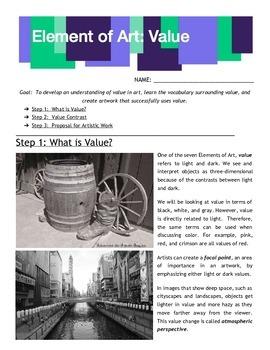 Element of Art: Value