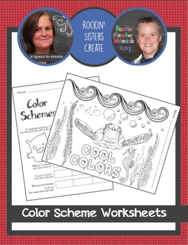 Element of Color Worksheets and Coloring Pages