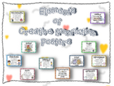 Elements of Creative Nonfiction Posters