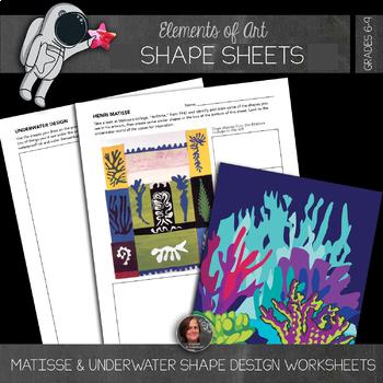 Element of Shape - Free Shape Activity Worksheets