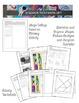 Elements of Art Worksheets Shape and Mini Art Lesson Sheets - Shape (10 Sheets)