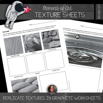 Element of Texture - Free Texture Activity Worksheets