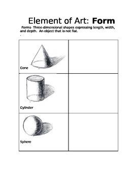 Element of art - Form
