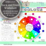 Elements of Art, Colour, Worksheet, Activity for All Visua