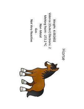 Elemental Animals (Periodic Table)