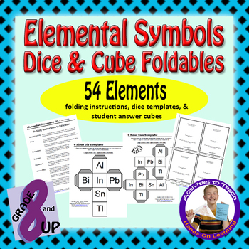 Elemental Discovery Fun - Practice Your Element ID & Details (54 Elements)