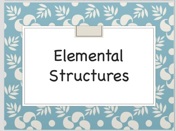Elemental Structures and Forms Printables
