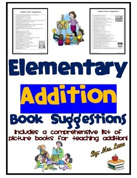 Elementary Addition Book Suggestions