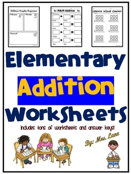 Elementary Addition Worksheets