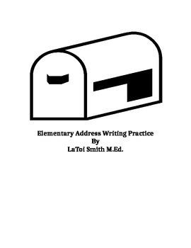 Elementary Address Writing Practice