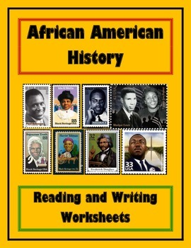 Elementary African American History Worksheet Bundle / Workbook