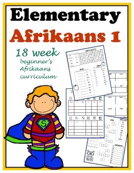 Elementary Afrikaans 1  (18 week beginner curriculum)