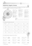 Elementary Algebra: Division