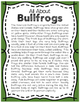 Elementary Animal Research Information- Bullfrogs!