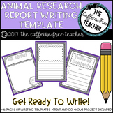Elementary Animal Research Project