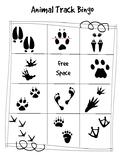 Elementary Animal Track Bingo