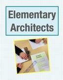 Elementary Architects Math Project: Design Blueprints & Explore Area (Grade 2-4)