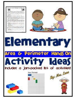 Elementary Area & Perimeter Hands-On Activity Ideas