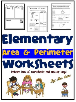 Elementary Area & Perimeter Worksheets