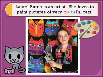 Elementary Art - Abstract Cats