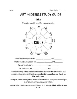 Elementary Art Assessments