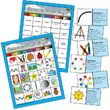 Elements of Art Elementary Visual Art BINGO Education Resources Double Sided