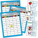 Principles of Design Elementary Visual Art BINGO Education Resources (Words)