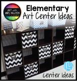 Elementary Art Centers