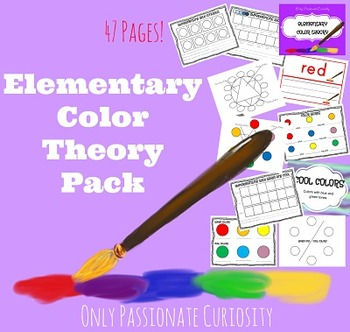 Elementary Art: Color Theory Pack