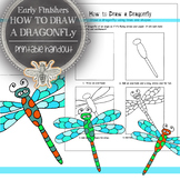 Elementary Art, Early Finishers Printable Handout: How to