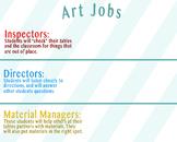 Elementary Art Jobs Poster