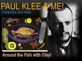 Elementary Art Lesson 3rd Paul Klee Abstract Fish Clay & M