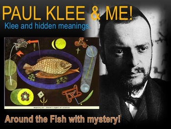 Elementary Art Lesson 4th:Paul Klee Around the Fish Watercolor & Marzano DQ