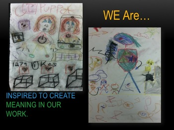 Elementary Art Lesson 5th:Paul Klee Puppet Theatre Chalk Pastels & Marzano DQ
