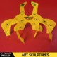 Elementary Art Lesson - Calder Sculpture Unit Three Projects