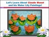 Elementary Art Lesson - Claude Monet Impressionism