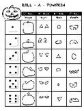 Elementary Art Lesson - Doodle Dice - Roll a Pumpkin