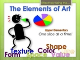 Elementary Art Lesson: Elements of Art for Upper Elementar