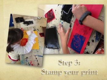 Elementary Art Lesson: Escher Watercolor Tessellation & Printmaking & Marzano DQ