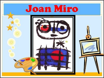 Elementary Art Lesson - Joan Miro Abstract Shape People