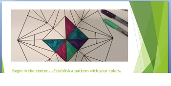 Elementary Art Lesson: Kaleidoscope Power Point