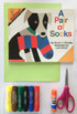 Elementary Art Lesson - Pair of Socks Book - Pattern Matching Lesson & Game