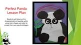 Elementary Art Lesson - Panda Bear Collage