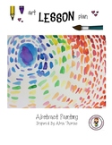 Elementary Art Lesson Plan. Abstract Painting inspired by