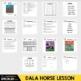 Elementary Art Lesson Plan Folk Art Swedish Dala Horse Painting