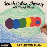 Elementary Art Lesson Plan - The Very Colorful Caterpillar Eric Carle